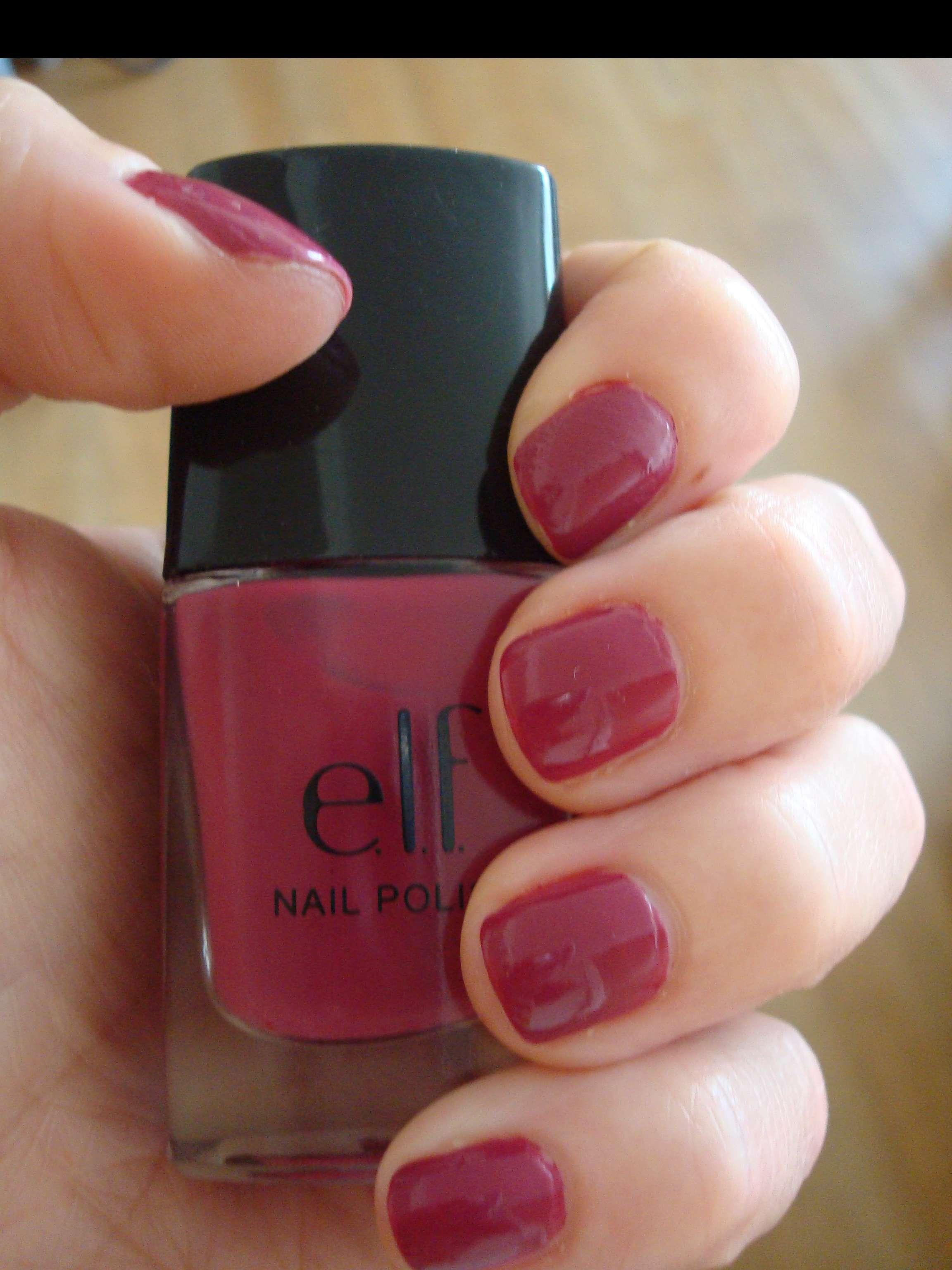 New ELF Nail Polish: Punk Purple   Beauty Chic&Cheap
